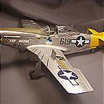 1/32 scale Tamiya P-51D model by John Bardwell