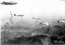 B-29's over Japan