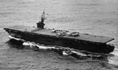 "Read about this heroic ship & it's WWII history. The little aircraft carrier saw lot's off action & even took on Battleships, Cruisers & Destroyers at close range - <a href=""kalininbay.asp"">click here</a>."